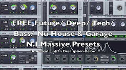deep house bass serum Massive Tutorial - Deep House Pad