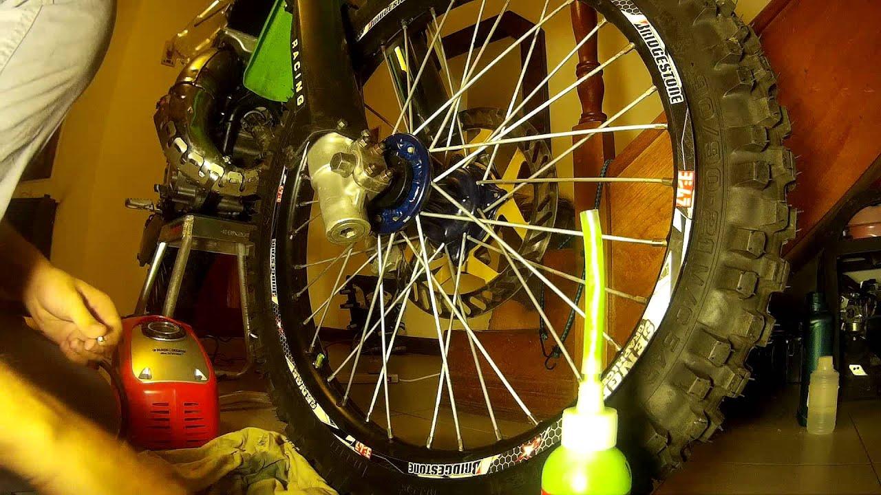 Dirt Bike Images >> SLIME FOR DIRT BIKE TUBE TIRES - YouTube