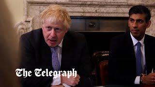video:  Politics latest news: Boris Johnson gives new Cabinet 'half-time pep talk'