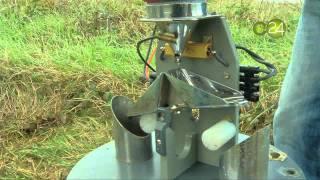 Vamos a ver como funciona un pluviómetro automático de cazoletas. Nos lo explica de forma sencilla José Antonio Aranda de Euskalmet.
