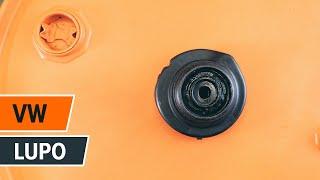 Podívejte se na video průvodce jak vyměnit Axiální kloub příčné táhlo řízení na VW TOURAN