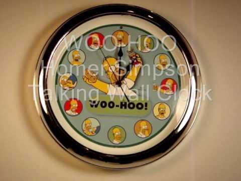 WOO-HOO Homer Simpson Talking Wall...