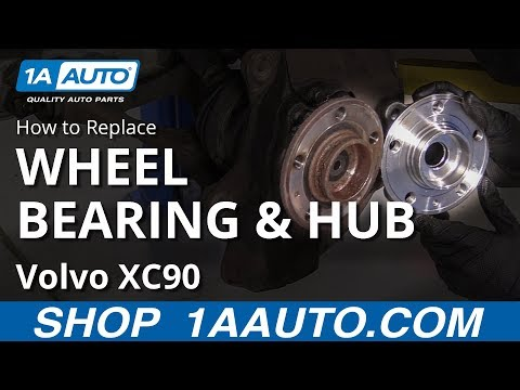 How to Replace Front Wheel Hub & Bearing 02-14 Volvo XC90