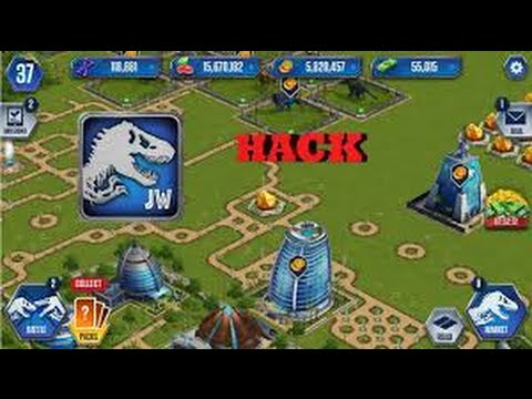 HOW TO HACK JURASSIC WORLD THE GAME