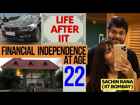 IIT Bombay Life | My Financial Independence | Journey after & during JEE | Make YOUR first Million!