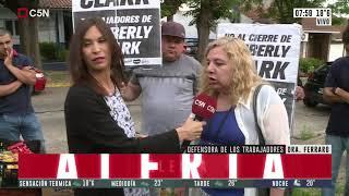 Quilmes: desalojaron la empresa Kimberly Clark
