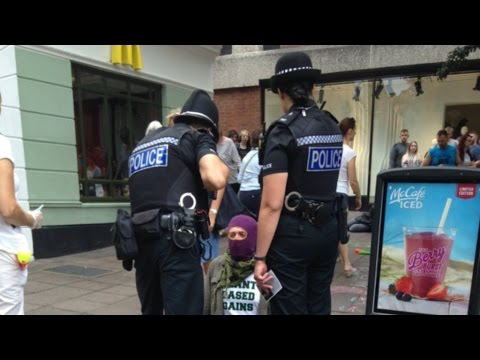 McDonald's Staff Assault Vegan Activist