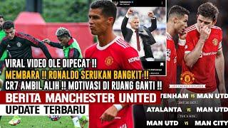VIRAL❗Motivasi Ronaldo Di Ruqng Ganti✊Video Ole Dipecat Bocor🤔Semua Pemain Keluarkan Uneg2nya Ke Ole