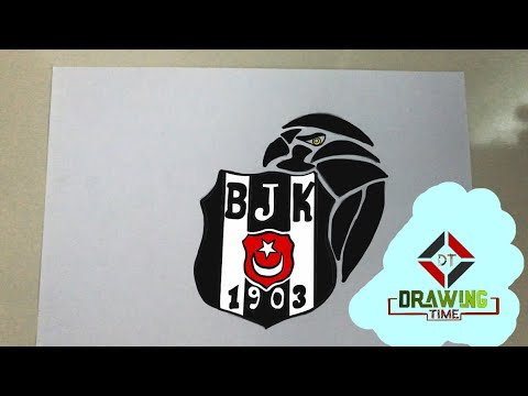 Kolay Besiktas Logo Ve Kartal Cizimi Video S Youtube Na Kompyuter