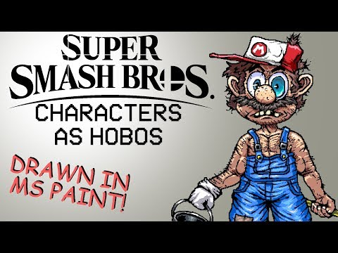 Super Smash Bros. Characters as Hobos thumbnail