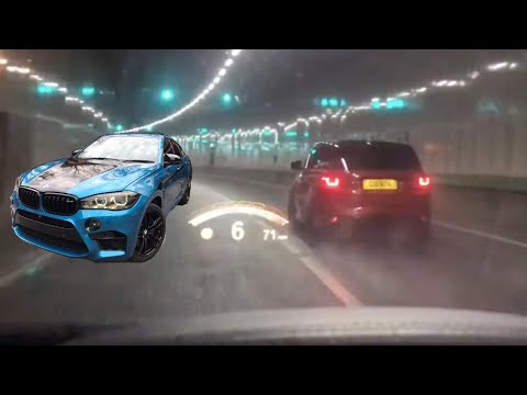 710BHP X6M VS GONTHS 612BHP SVR (EXHAUST FLAME)