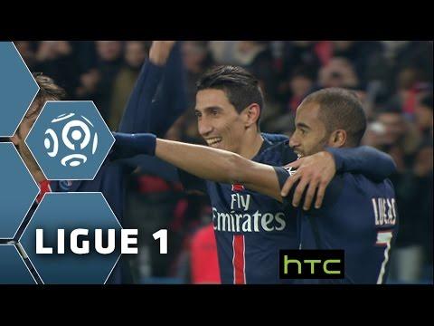 Di Maria régale le Parc des Princes 22ème journée de Ligue 1 / 2015-16
