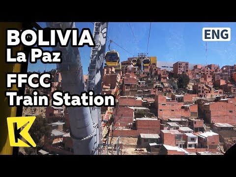 【K】Bolivia Travel-La Paz[볼리비아 여행-라파스]케이블카로 가는 엘 알토/FFCC Train Station/Cable car/El Alto