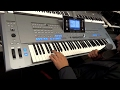 Scoring the best keyboard in the world, Yamaha tyros 5 76