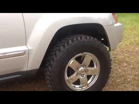 "Black Grand Cherokee >> Custom 2005 Jeep (WK) Grand Cherokee Ltd 5.7 Hemi 3"" Lift - YouTube"