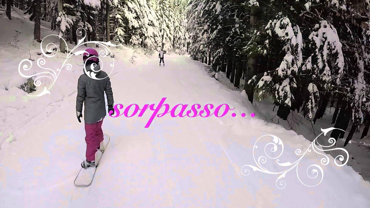 Gopro neve -  caduta improvvisa.... paura?