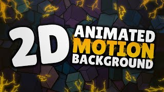 2D Animated Motion Background | Free To Use