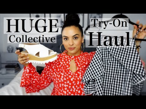 HUGE Collective Try On Haul | HRH Collection/BooHoo/NordstromRack/MissSelfridge