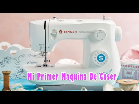 Mi primer maquina de coser | SINGER FASHION MATE 3342