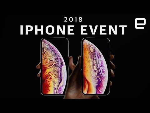 Apple's iPhone XS / XR keynote in 12 minutes