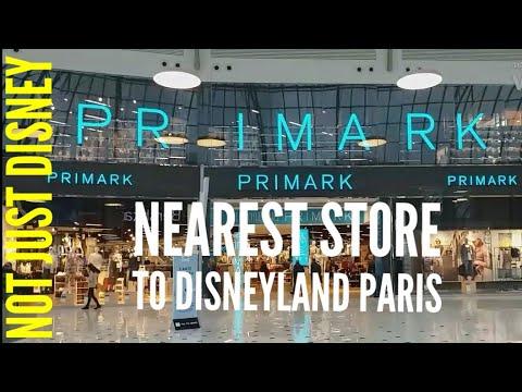 PRIMARK VAL D'EUROPE DISNEY MERCHANDISE Store Nearest To Disneyland Park Paris March 2019