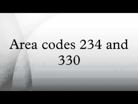 Area Codes 234 And 330