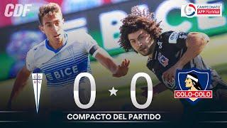Universidad Católica 0 - 0 Colo Colo | Campeonato PlanVital 2020 - Fecha 25