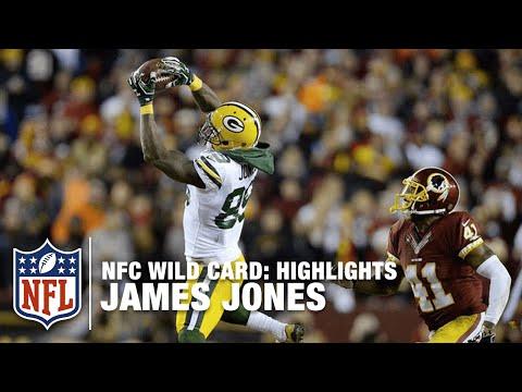 James Jones Highlights (NFC Wild Card) | NFL