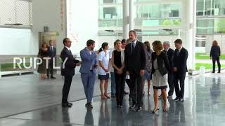 Spain: King and Queen of Spain meet injured Barcelona attack victims in hospital