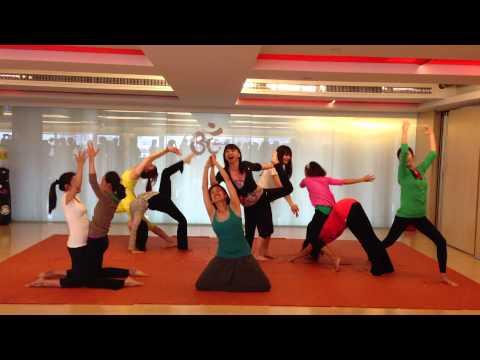 Rainbow Kids Yoga - Yoga Dance Creation - Taiwan Teacher Training