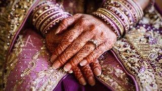 Cinematic Pakistani Wedding Reception Highlights - Costa Mesa Hilton