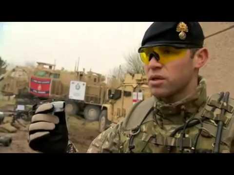 British Army's Black Hornet Nano UAV