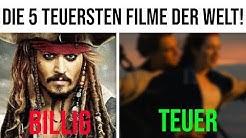Unfassbar! Das sind die 5 teuersten Filme aller Zeiten!