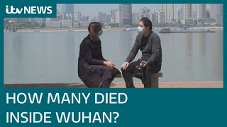 Questions raised over offİcial China coronavirus death figures | ITV News