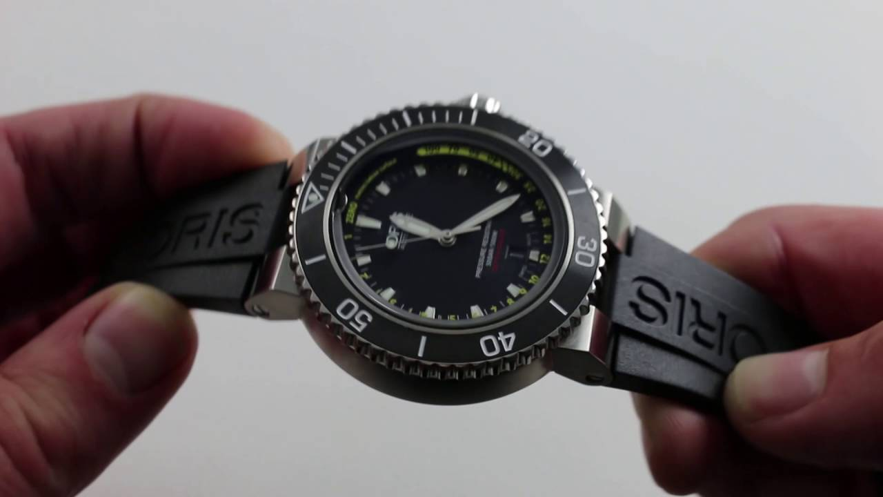 5ecb2dcbc Oris Aquis Depth Gauge Luxury Watch Review - YouTube
