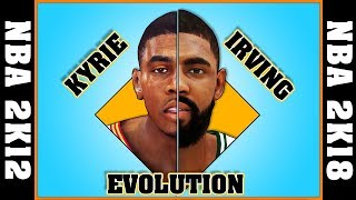 KYRIE IRVING evolution [NBA 2K12 - NBA 2K18]