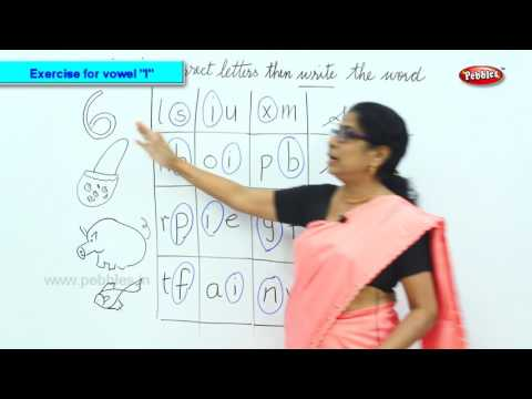 "Exercise for Vowel ""I"" 