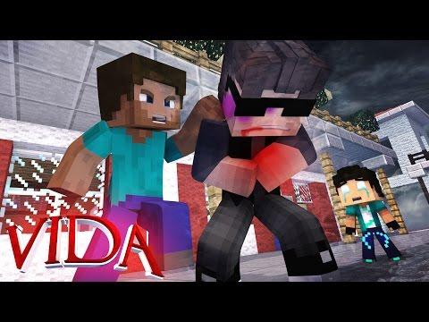 Minecraft VIDA : PAPAI FOI ESPANCADO !! #07