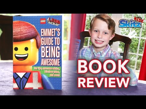 Emmet's Guide To Being Awesome Book Review by Logan | SkitzKidz |