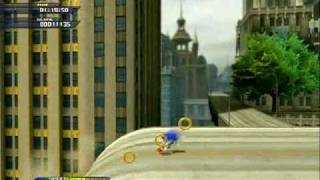 Sonic Unleashed - Empire City (day) - Act 1