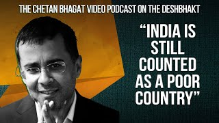 Chetan Bhagat: We have to stop dreaming of greatness & get to work! | Deshbhakt Conversations