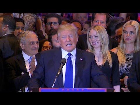 Donald Trump wins New York primary