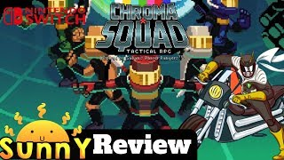 Chroma Squad Nintendo Switch Review | Another Great Indie Game On The Switch? | Gameplay (Video Game Video Review)