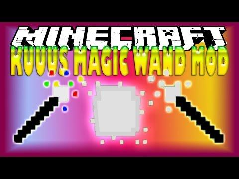 how to use wand in minecraft