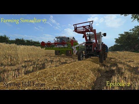 Fs 17 - Spring Hill Farm - Episode 2 - Start of the Harvest