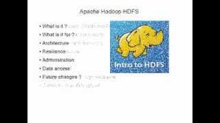 Apache Hadoop HDFS