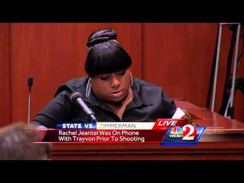 Trayvon Martin's friend testifying: I'm leaving today
