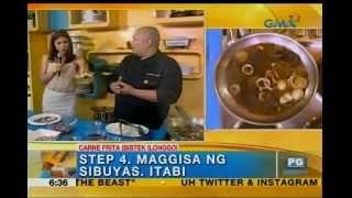Kitchen Hirit: Namit Iloilo! Carne Frita  Bistek Ilonggo  Unang Hirit