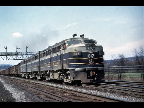 The Freight Goes Through 1952 Railroad Film [4K]