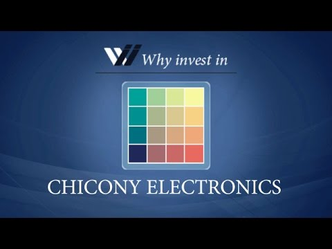 Chicony Electronics - Why invest in 2015